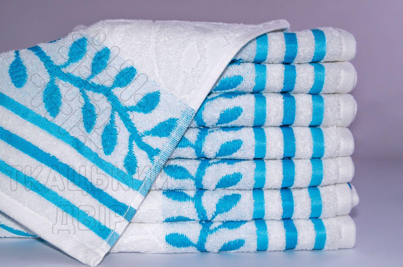 Полотенце для лица Terry Lux Верба 50*90 см махровое жаккардовое банное