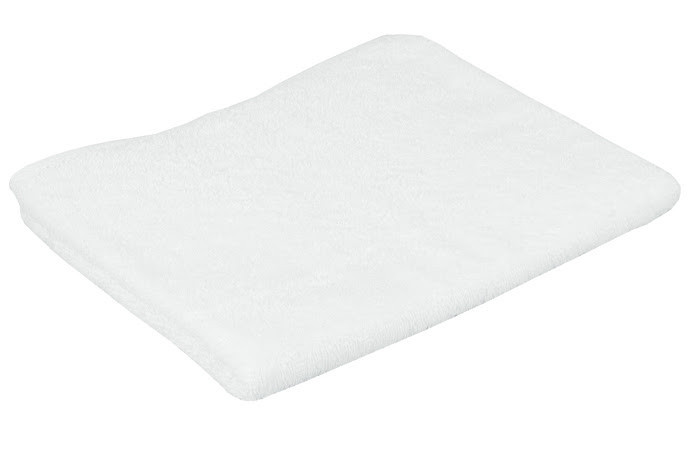 Полотенце для лица Руно 50*90 см махровое банное белое арт.К 50*90 (420) 16/1