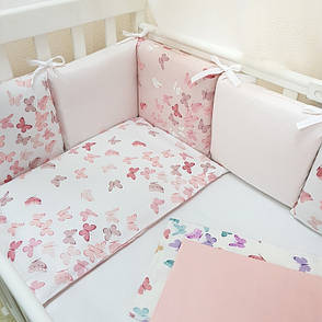 Комплект Маленька соня Baby Метелики №49 стандарт/овал 6предметов дитячий арт.0220222, фото 2