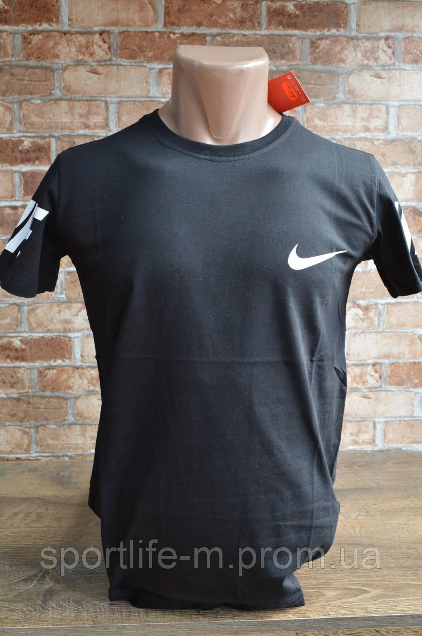 5051-Мужская футболка Nike-2020-чёрная