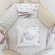 Комплект Маленька соня Magic Зайчик стандарт/овал 6 предметів золото дитячий арт.0241235, фото 2