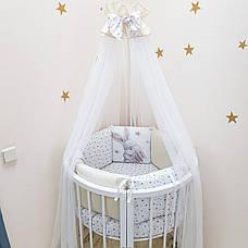 Комплект Маленька соня Magic Зайчик стандарт/овал 6 предметів золото дитячий арт.0241235, фото 3