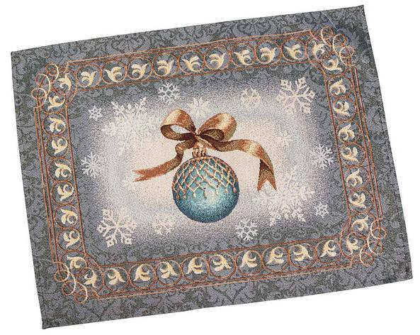 Салфетка-подкладка для кухни LiMaSo Ночь перед Рождеством 37*49 см гобеленовая новогодняя, фото 2