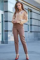 Молодежная рубашка из стрейч–коттона 1185 (42–48р) в расцветках, фото 1