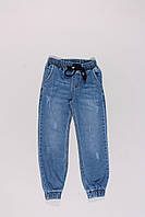 Джинсы на резинке для мальчиков (6-10 лет), фото 1