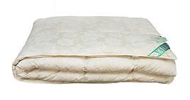 Одеяло Экопух 100 полуторное 155*215 см тик/100%-пух пуховое кассетное теплое