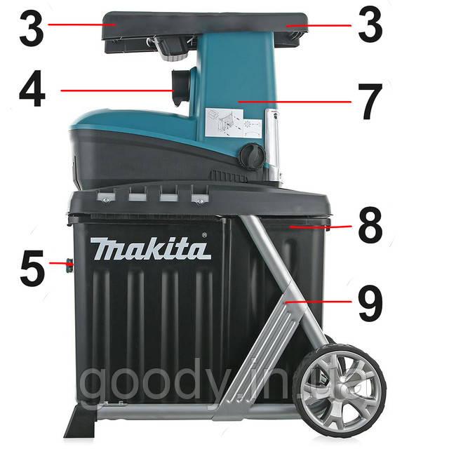Подрібнювач для гілок Makita UD2500 2500 Вт