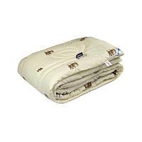 Одеяло Руно Комфорт+ Sheep двуспальное 172*205 см бязь/овечья шерсть теплое арт.316.02ШК+У_SHEEP