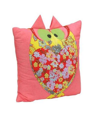 Подушка декоративная Руно Owl 40*40 см хлопок/силиконовые шарики арт.311Owl, фото 2