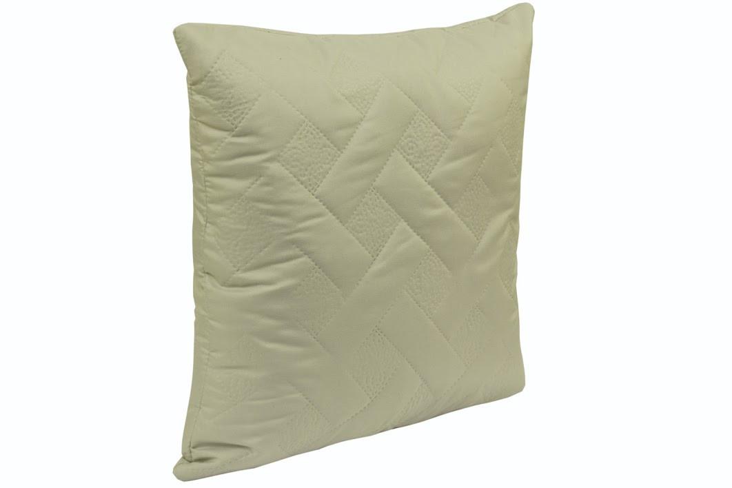 Подушка декоративная Руно Лилия 40*40 см микрофибра/силиконовые шарики серая арт.311.52_сірий лілія