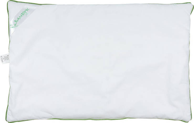 Подушка для новорожденных Руно Бамбук 40*60 см тик/полиэфирное волокно арт.931.139БУ, фото 2