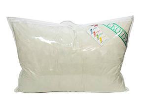 Подушка детская Экопух 40*60 см тик/100%-пух пуховая 450г, фото 2