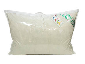 Подушка детская Экопух 40*60 см тик/50%перо/50%-пух пухоперьевая облегченная 450г, фото 2