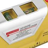 Лазерний рівень laser level pro 3 з вбудованою рулеткою 2,5 метра, фото 2