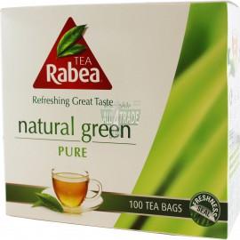 Чай зеленый Rabea 100 пакетов