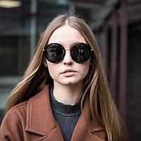 Женские солнцезащитные очки UV400 круглые, фото 1