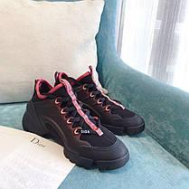 """Кроссовки Dior D-Connect """"Черные"""", фото 2"""
