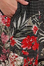 Платье свободного покроя для полных женщин, фото 3