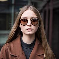 Модные женские солнцезащитные очки UV400 оверсайз, фото 1