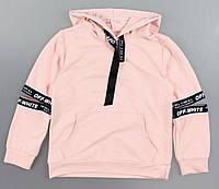 {есть:128} Толстовка Off-White для девочек, 128-158 рр. Артикул: VG6190-розовый