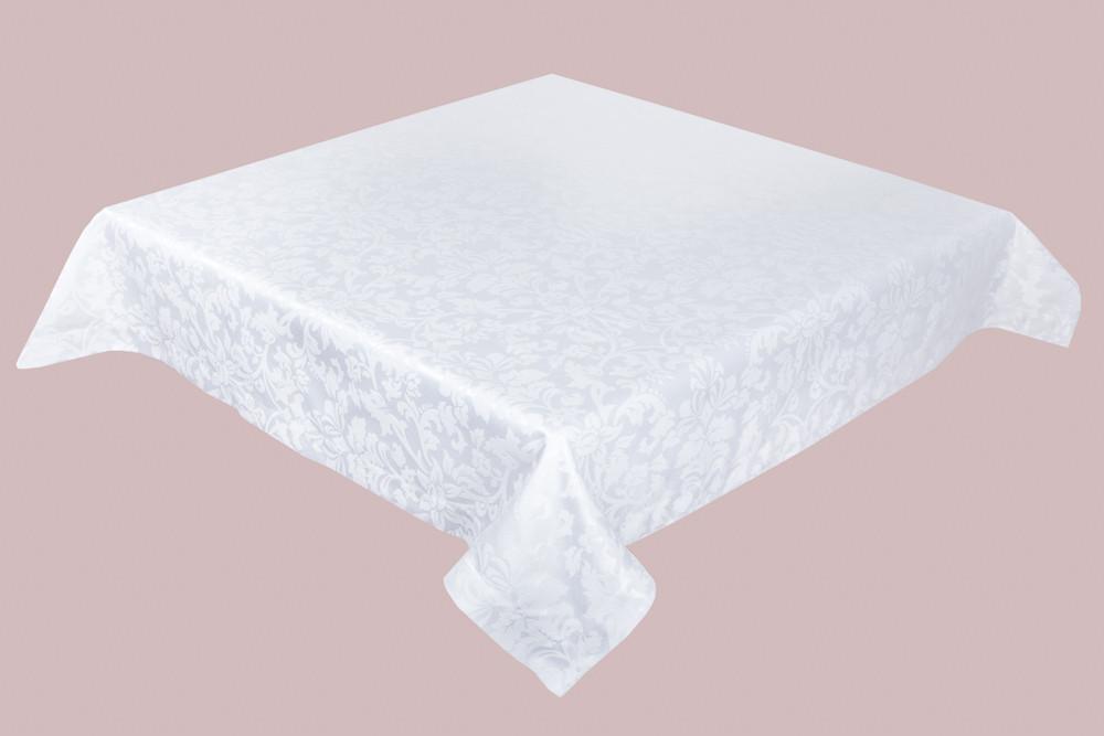 Скатерть LiMaSo 150*240 см полиэстер белая арт.SKC06B.150х240