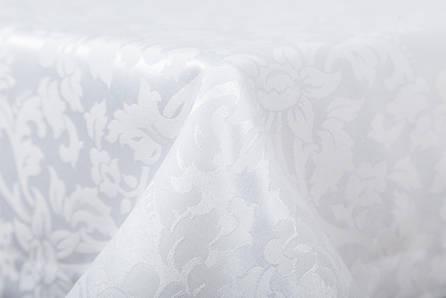 Скатерть LiMaSo 150*240 см полиэстер белая арт.SKC06B.150х240, фото 2