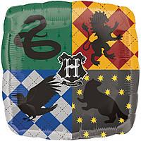 """Фольгированный шар с рисунком 18 """" Гарри Поттер Harry Potter Anagram"""