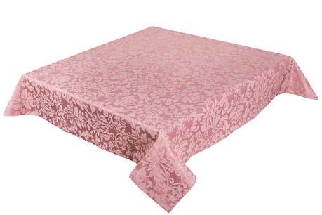 Скатерть LiMaSo 150*180 см полиэстер розовая арт.SKC06R.150х180, фото 2