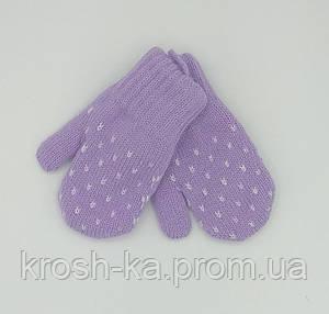 Варежки для девочки (1-2)л Magrof Польша Kropka-3101
