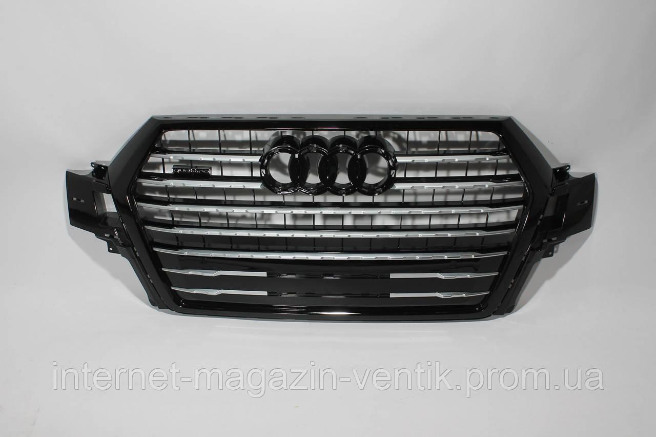 Решетка радиатора Audi Q7 стиль SQ7 16+