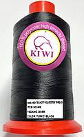 Нитка №40 Чорна капронова підвищеної міцності 3000м Kiwi