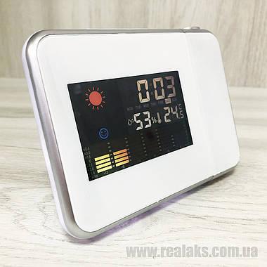 Часы метеостанция DS-8190 (White), фото 2