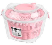 Сушка для зелені Ardesto Fresh 4.4 л Рожевий (AR1603PP)