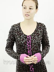 Платье кофта женсоке тигровый принт(34)р Nysense Франция 02802