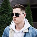 Мужские модные солнцезащитные очки авиатор, фото 2