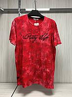 Мужская футболка MSY. 11230-8332(red). Размеры: M,L,XL,XXL.