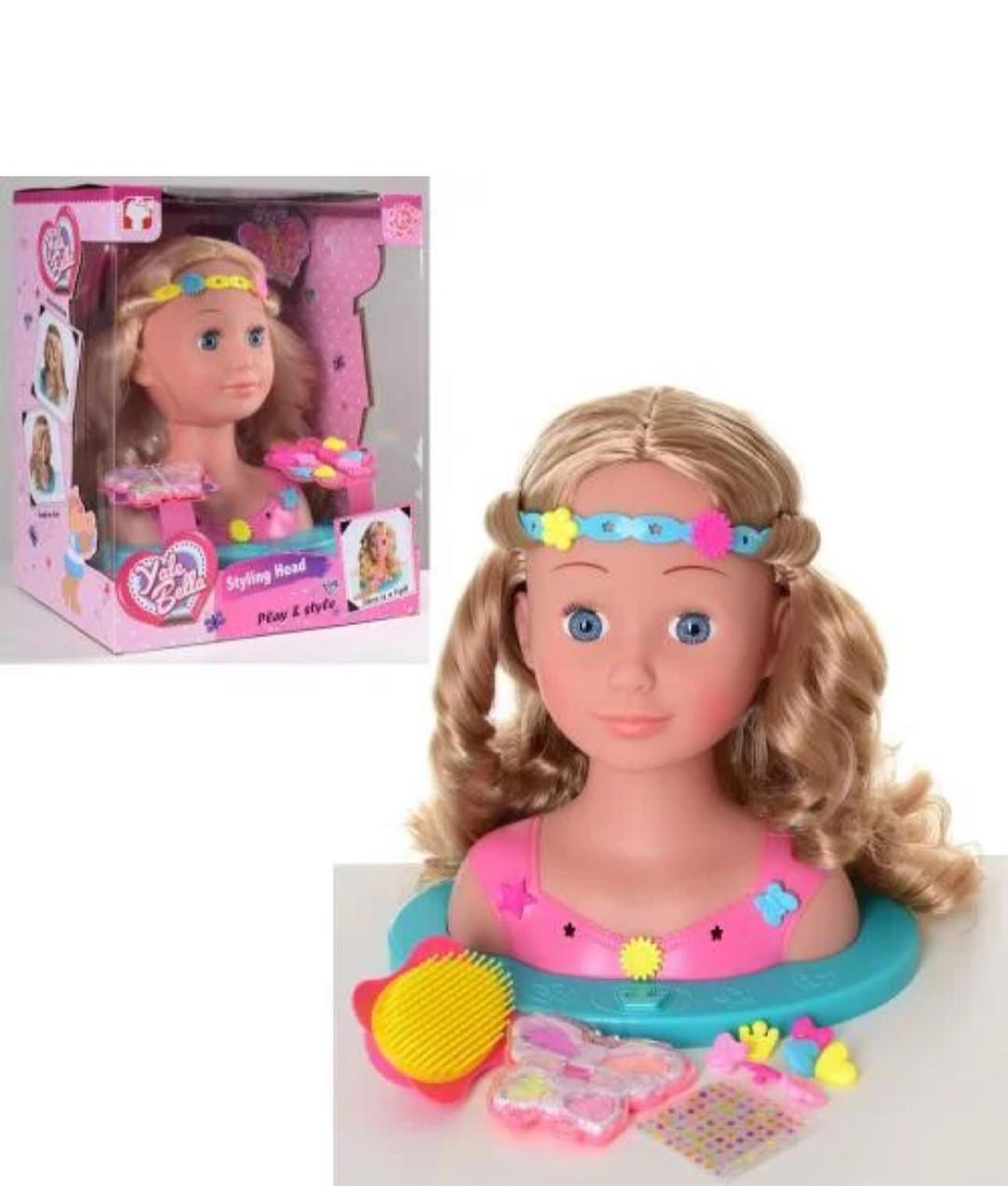 Кукла-манекен (голова для причесок) 888