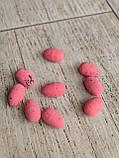 Яйця пінопластові перепелині, для декору. h-3 см, 9шт/уп 20 грн, фото 6