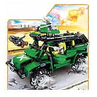 Конструктор Вооруженное противостояние серия Чудесный город JVToy 24007
