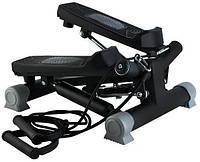 Степпер c эспандерами и дисплеем для дома мини-степпер тренажер, фото 1