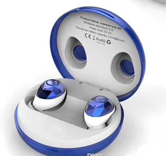Беспроводные наушники Hopestar E6 Bluetooth Синие