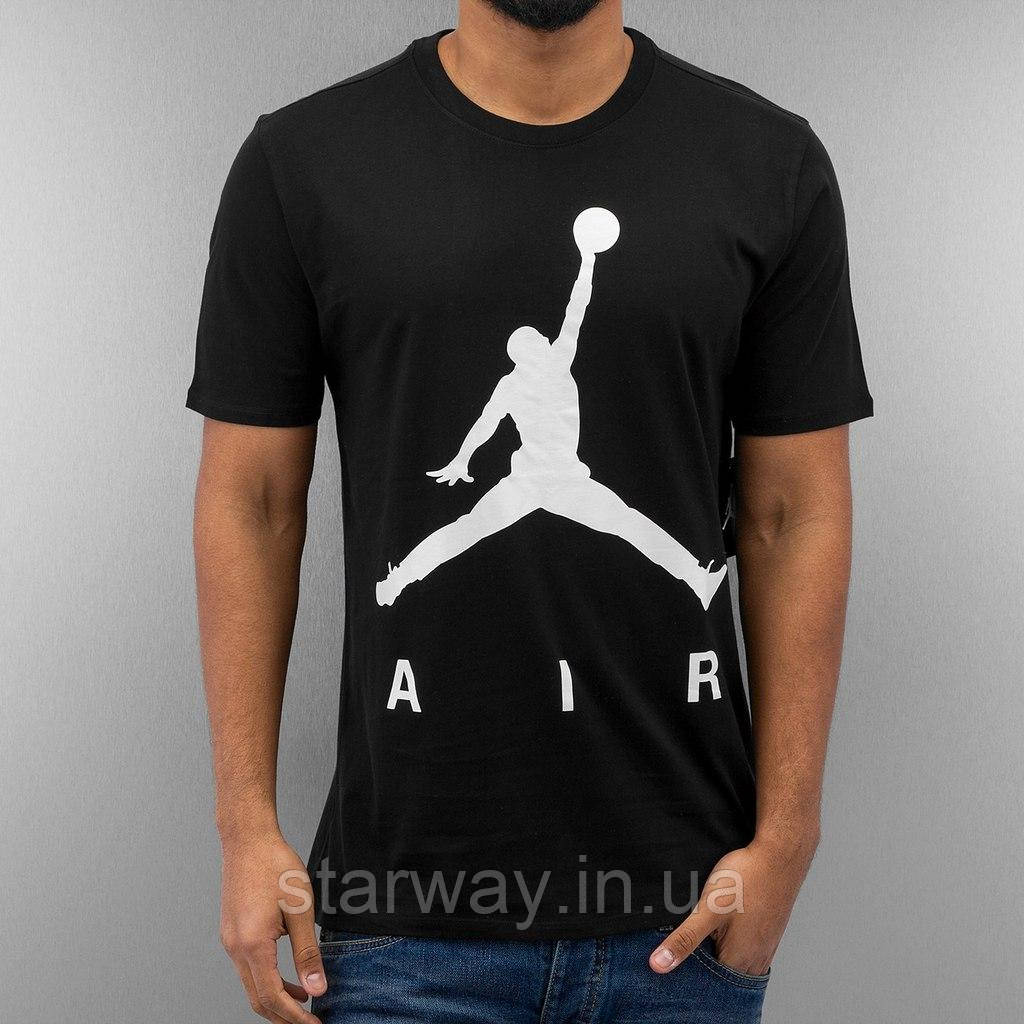Футболка Jordan air logo   топ