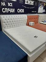 Кровать с подъемным механизмом со стразами, фото 1