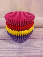 Бумажные формы для кексов, микс  № 2, 100 шт