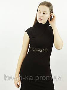 Платье женское безрукав чёрное(36,38)р Histeric Glamour Китай 03128