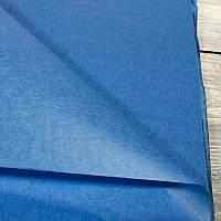 Бумага тишью в листах 50х70 см, синяя (Китай)