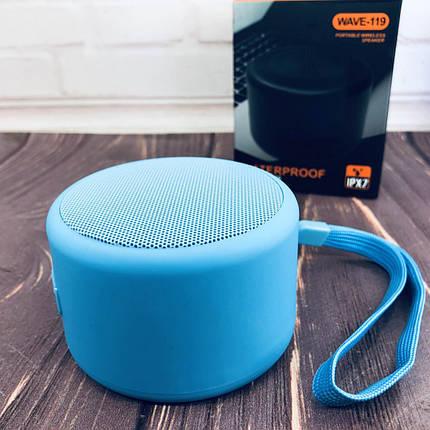 Портативная Bluetooth колонка Jedel-119 Синяя, фото 2