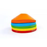 Фишки для разметки поля UR (пластик, d-20см, комплект 50шт, цвета в ассортименте) IF-53