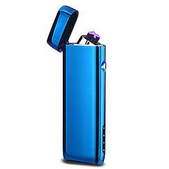 Электроимпульсная USB зажигалка Strait Blue 062_3