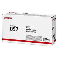 Тонер-картридж Canon 057 LBP223dw/226dw/228x/MF443dw/445dw/446X/MF449X Black (3100 стор) (3009C002)